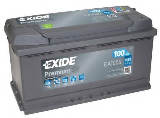 EXIDE EA1000 Стартерная аккумуляторная батарея; Стартерная аккумуляторная батарея