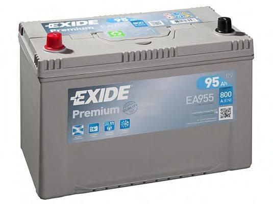 EXIDE EA955 Стартерная аккумуляторная батарея; Стартерная аккумуляторная батарея