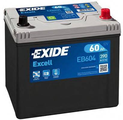 EXIDE EB604 Стартерная аккумуляторная батарея; Стартерная аккумуляторная батарея