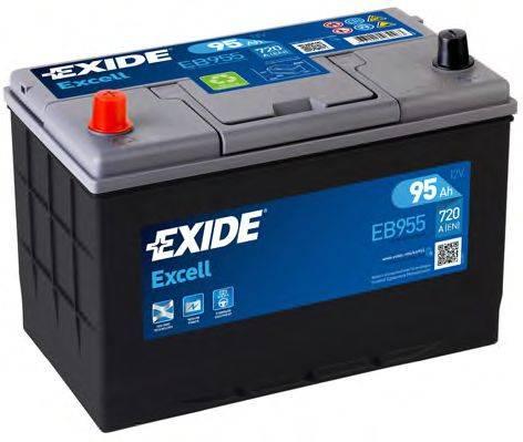 EXIDE EB955 Стартерная аккумуляторная батарея; Стартерная аккумуляторная батарея