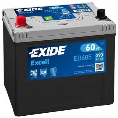 EXIDE EB605 Стартерная аккумуляторная батарея; Стартерная аккумуляторная батарея