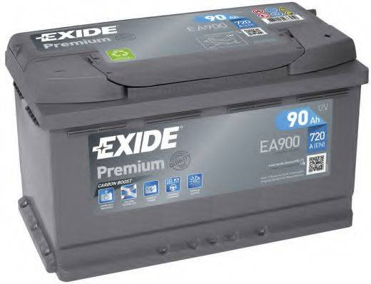 EXIDE EA900 Стартерная аккумуляторная батарея; Стартерная аккумуляторная батарея