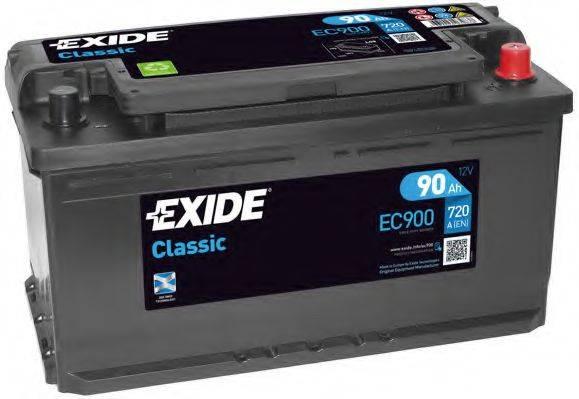 EXIDE EC900 Стартерная аккумуляторная батарея; Стартерная аккумуляторная батарея