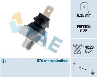 FAE 11610 Датчик давления масла