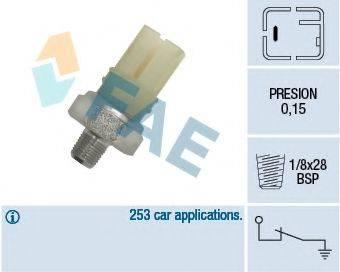 FAE 12420 Датчик давления масла