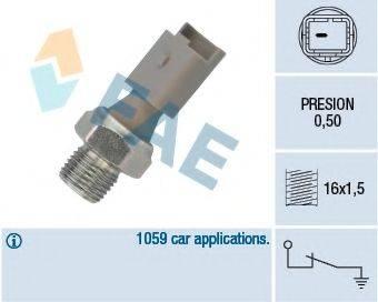 FAE 12640 Датчик давления масла