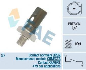 FAE 12880 Датчик давления масла