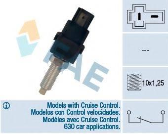 FAE 24720 Выключатель фонаря сигнала торможения; Выключатель, привод сцепления (Tempomat); Выключатель, привод сцепления (управление двигателем)