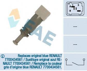 FAE 24891 Выключатель фонаря сигнала торможения; Выключатель, привод сцепления (Tempomat)