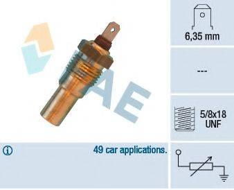 FAE 31690 Датчик, температура охлаждающей жидкости