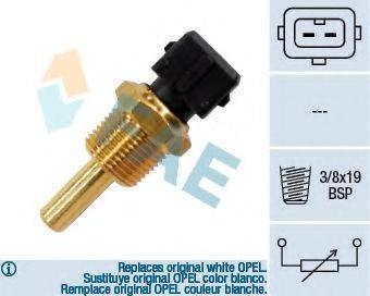 FAE 33350 Датчик, температура масла; Датчик, температура охлаждающей жидкости