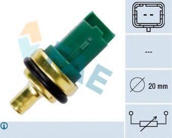 FAE 33706 Датчик, температура охлаждающей жидкости