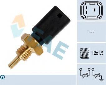 FAE 33724 Датчик, температура охлаждающей жидкости
