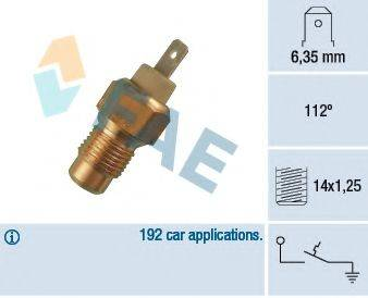 FAE 35180 термовыключатель, сигнальная лампа охлаждающей жидкости
