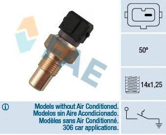 FAE 35550 термовыключатель, сигнальная лампа охлаждающей жидкости