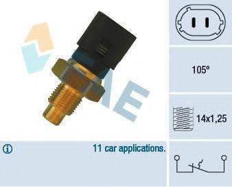 FAE 35890 термовыключатель, сигнальная лампа охлаждающей жидкости