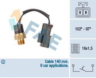 FAE 37520 Термовыключатель, вентилятор радиатора