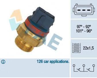 FAE 37930 Термовыключатель, вентилятор радиатора