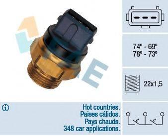 FAE 37935 Термовыключатель, вентилятор радиатора