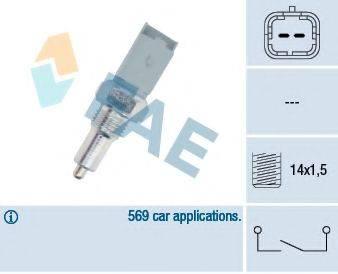 FAE 40492 Выключатель, фара заднего хода