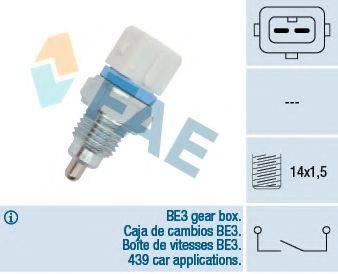 FAE 40650 Выключатель, фара заднего хода