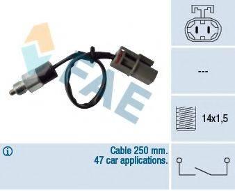 FAE 40810 Выключатель, фара заднего хода