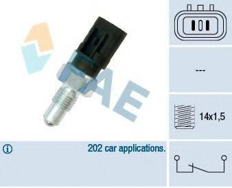 FAE 41240 Выключатель, фара заднего хода