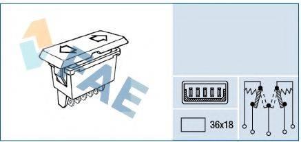 FAE 62580 Выключатель, стеклолодъемник