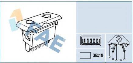 FAE 62640 Выключатель, стеклолодъемник