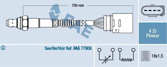 FAE 77141 Лямбда-зонд