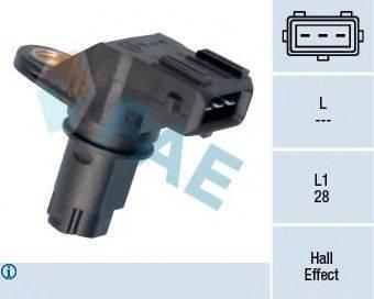 FAE 79159 Датчик частоты вращения, управление двигателем; Датчик, положение распределительного вала