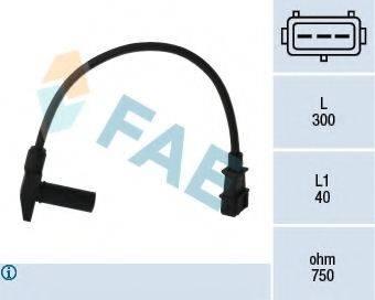 FAE 79096 Датчик импульсов; Датчик частоты вращения, управление двигателем
