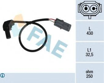 FAE 79184 Датчик импульсов; Датчик частоты вращения, управление двигателем