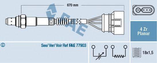FAE 77302 Лямбда-зонд
