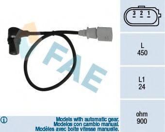 FAE 79055 Датчик импульсов; Датчик частоты вращения, управление двигателем