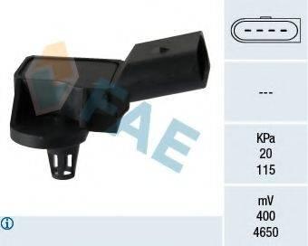 FAE 15090 Датчик, давление во впускном газопроводе