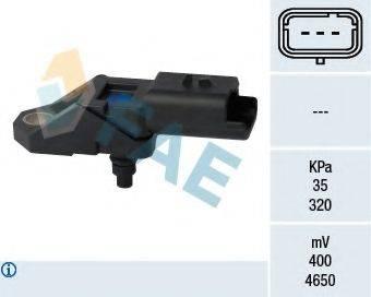 FAE 15108 Датчик, давление во впускном газопроводе