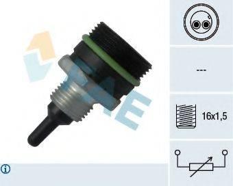 FAE 33901 Датчик, температура впускаемого воздуха