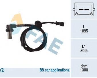 FAE 78062 Датчик, частота вращения колеса
