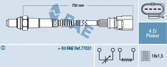 FAE 77901 Лямбда-зонд