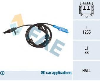 FAE 78235 Датчик, частота вращения колеса