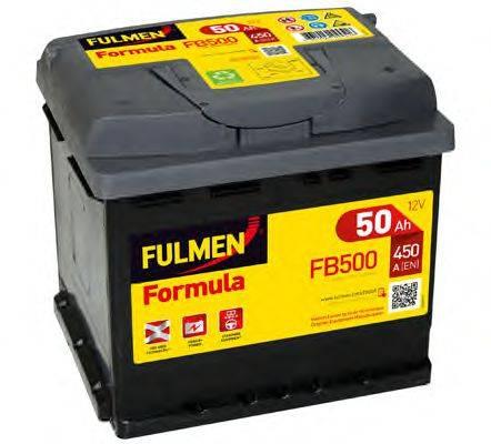 FULMEN FB500 Стартерная аккумуляторная батарея; Стартерная аккумуляторная батарея