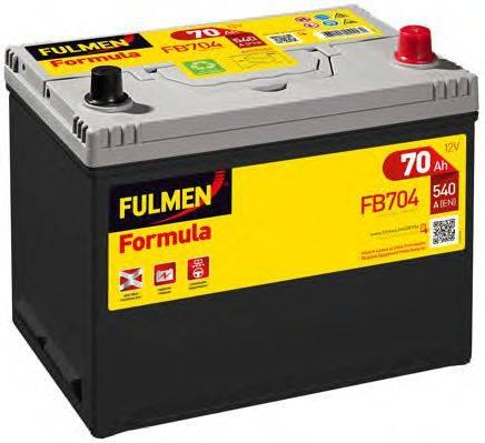 FULMEN FB704 Стартерная аккумуляторная батарея; Стартерная аккумуляторная батарея