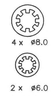 NECTO N1322 Комплект тормозных колодок