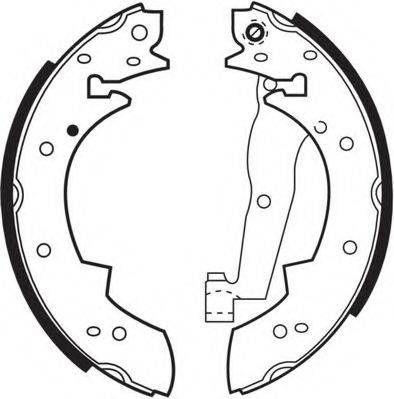 NECTO N1362 Комплект тормозных колодок