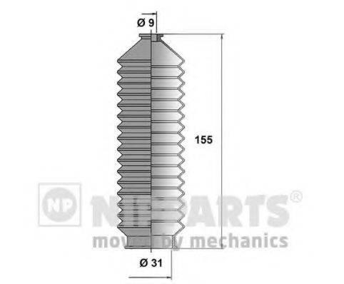 NIPPARTS N2841020 Комплект пылника, рулевое управление