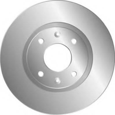 MGA D897 Тормозной диск