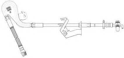 MGA F6907 Тормозной шланг