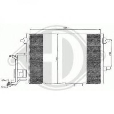 DIEDERICHS 8102401 Конденсатор, кондиционер