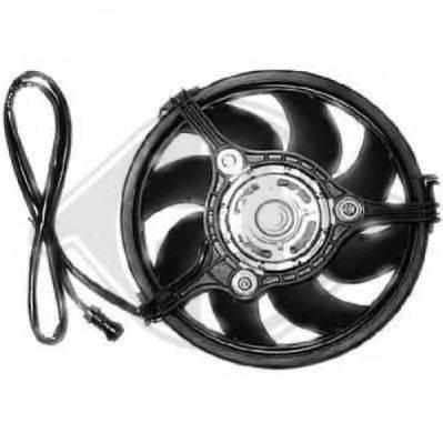DIEDERICHS 8224512 Вентилятор, охлаждение двигателя